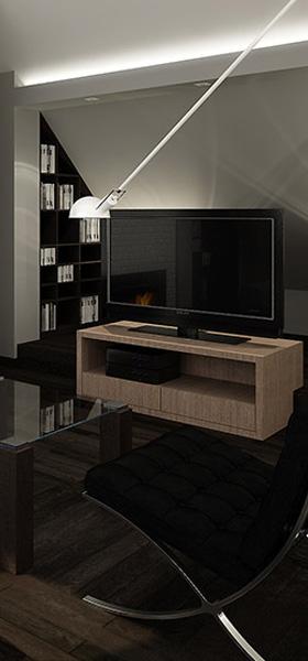 Interior design: In the masculine style