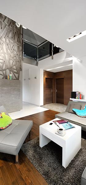 Interior design: Charm of geometry