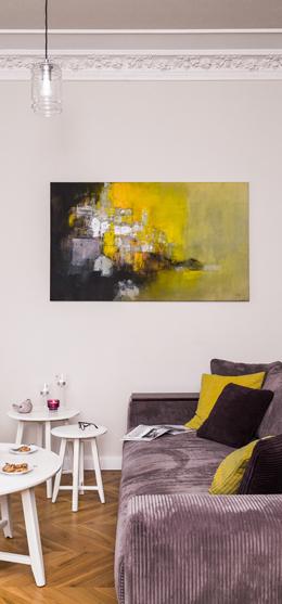 Interior design: Apartment with temperament
