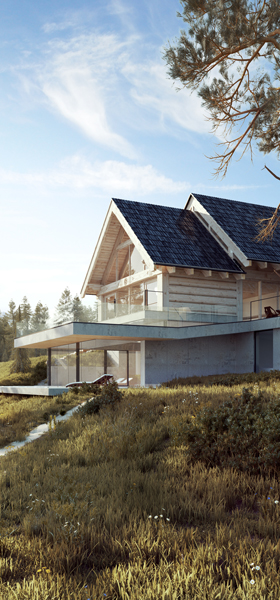 Architectural design: Tatra House