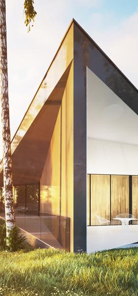 Architectural design: Futurystyczna